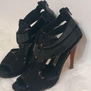 Manolo Blahnik Black Heels Sandals 5.5